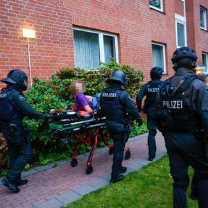 Spezialkräfte der Polizei haben den Mann festgenommen.