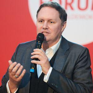 Hamburgs Kultursenator Carsten Brosda (SPD) bei einer Podiumsdiskussion im August 2021.