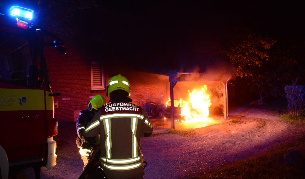 Feuer Geesthacht