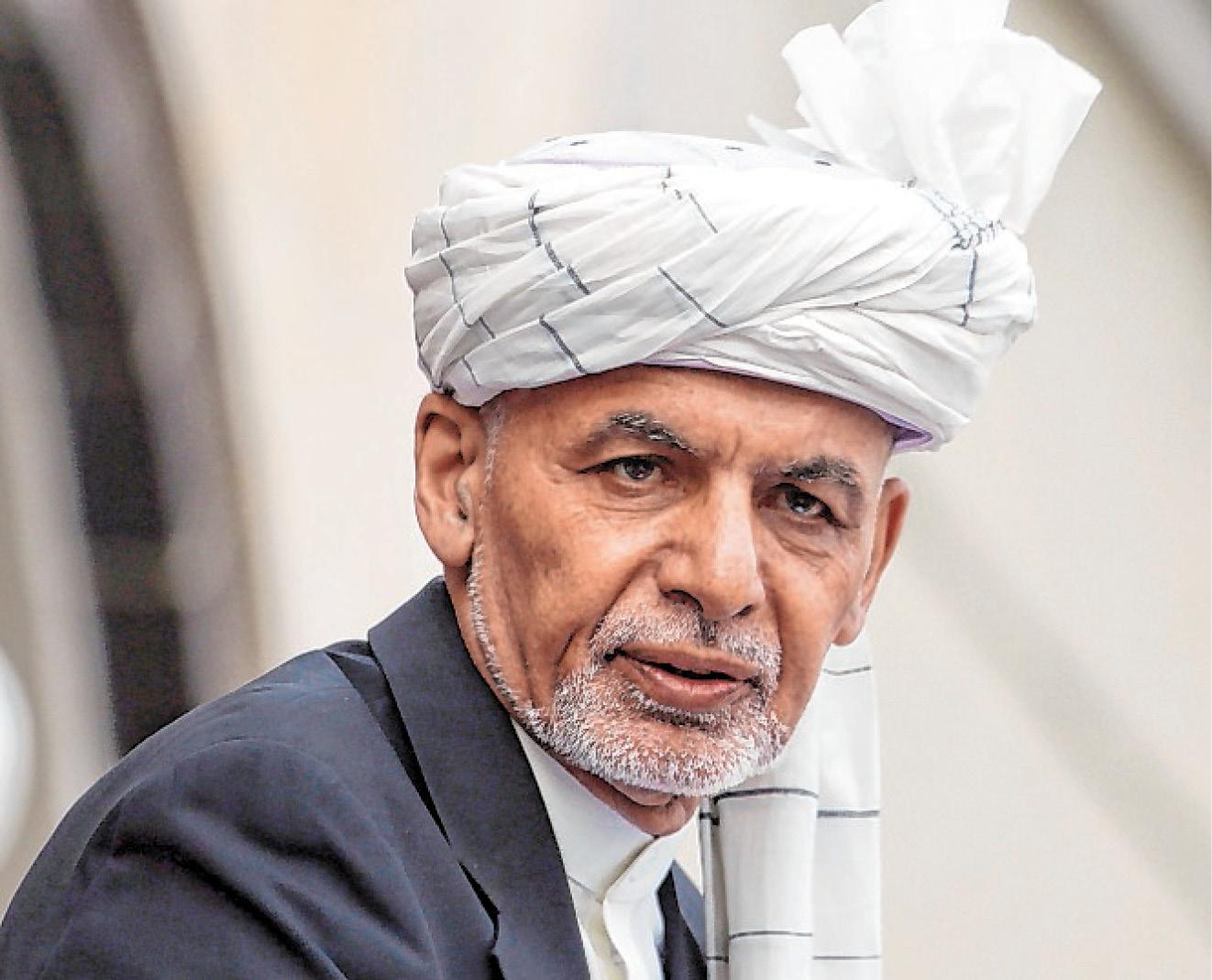 Afghanistans Präsident Aschraf Ghani ist vor den Taliban aus dem Land geflohen.