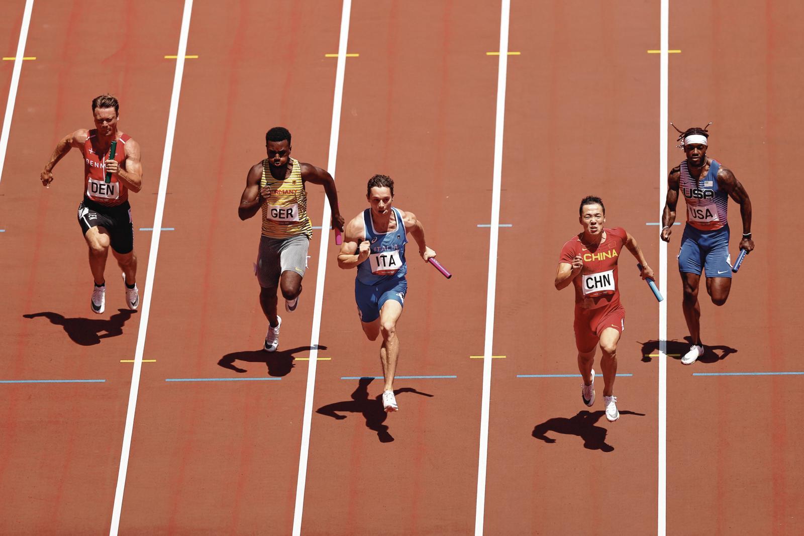 HSV-Sprinter Lucas Ansah-Peprah bei Olympia