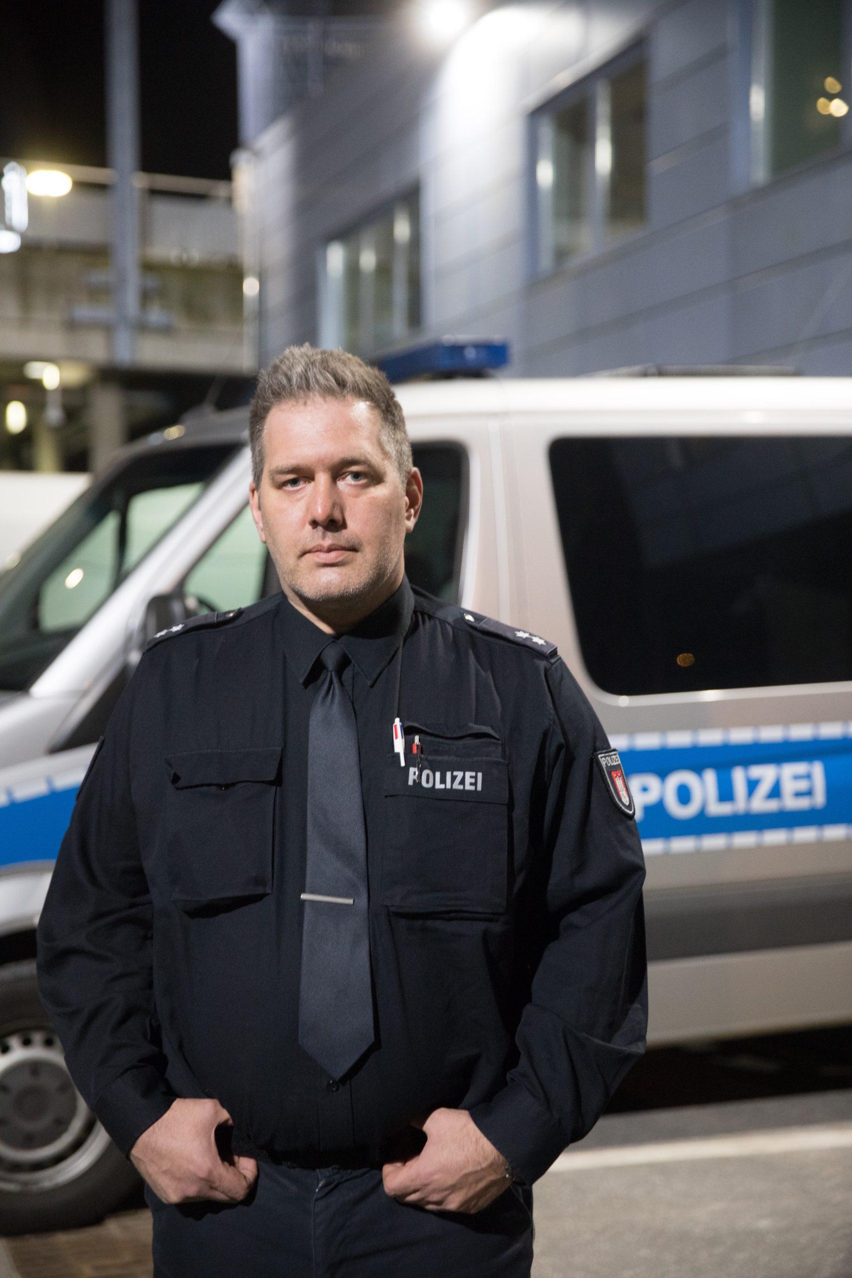 Lars Osburg, GdP-Vize in Hamburg.