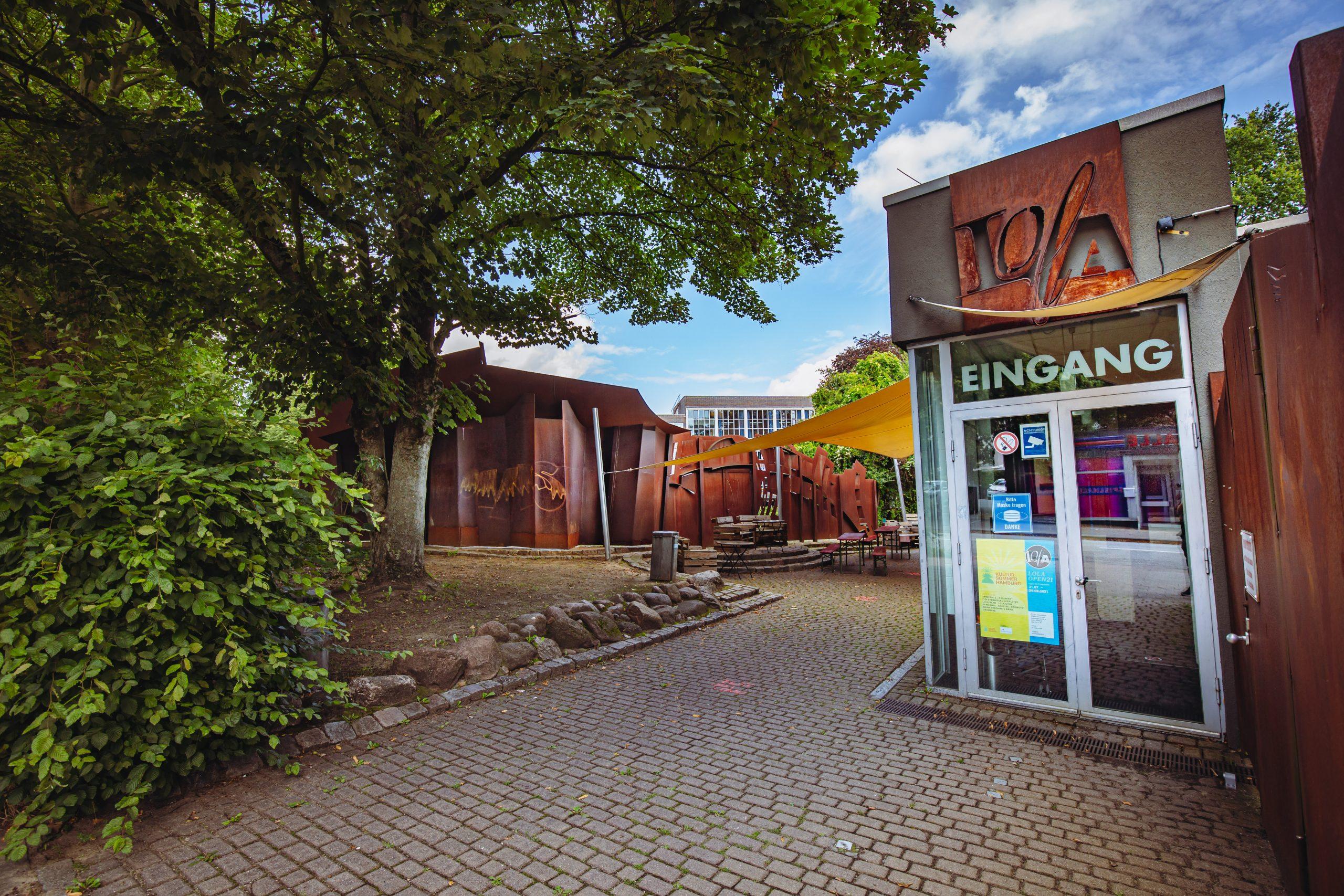 Eingangsbereich nes Kulturzentrums Lola