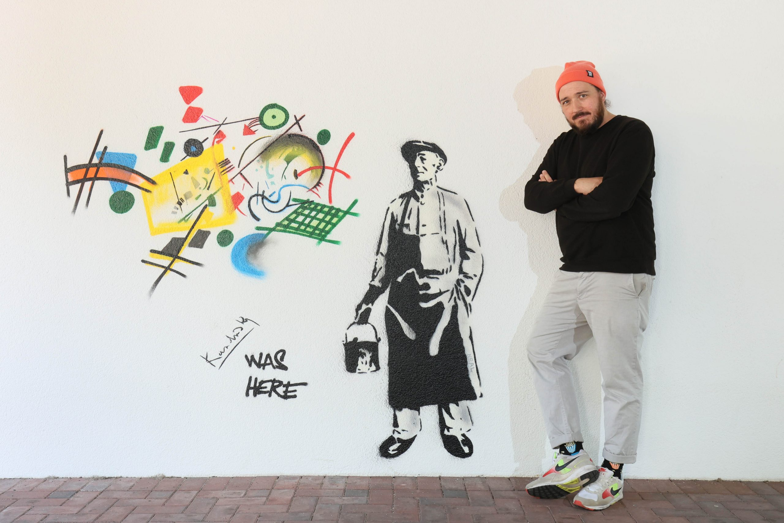 Rudolf Klöckner, Inhaber der Urbanshit Gallery
