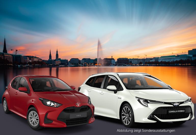 Zwei Toyotas