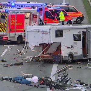 Unfall auf der A7 bei Quickborn