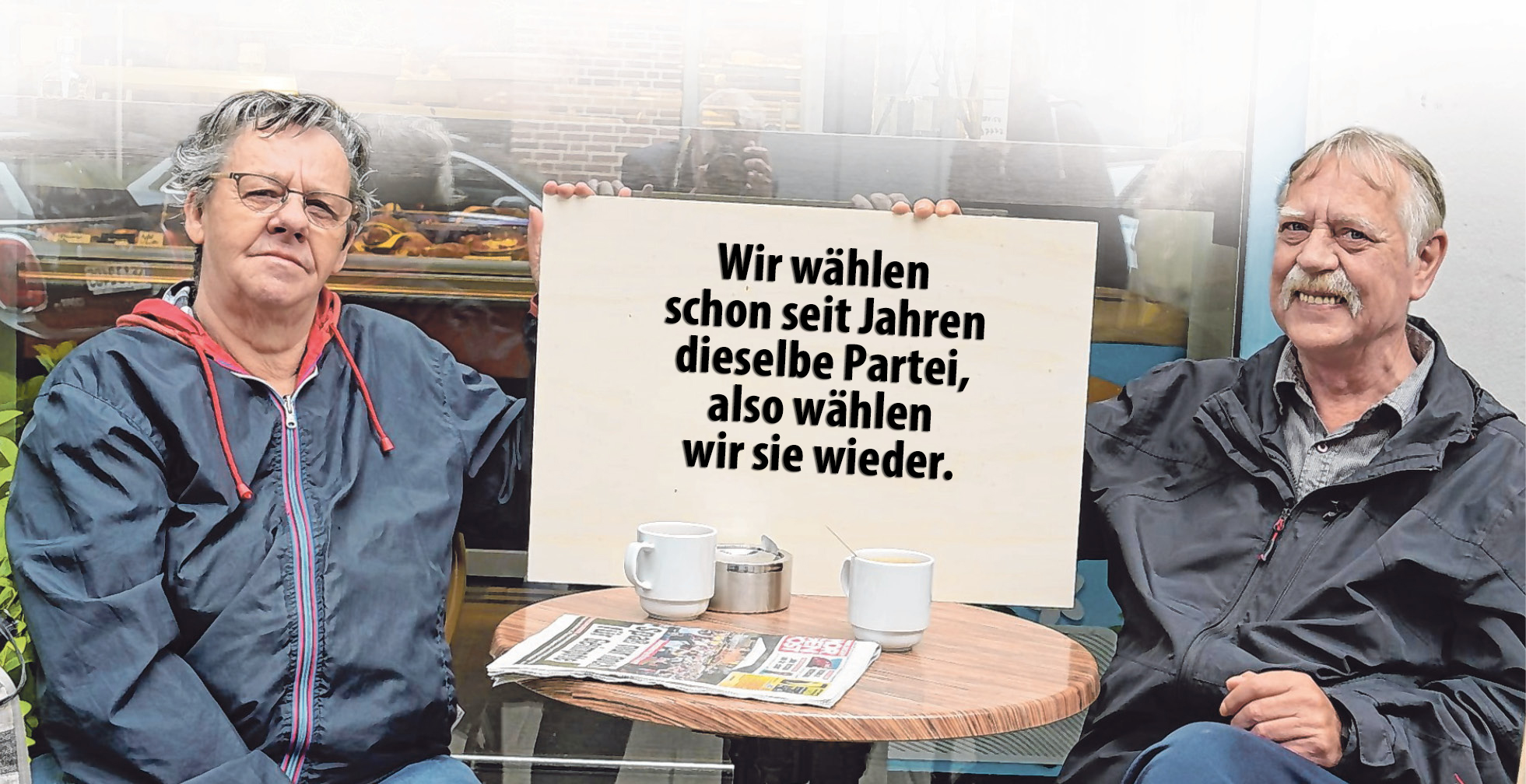Das Rentner-Ehepaar Bärbel (72) und Bernd (67) Köhnke aus Barmbek-Süd.