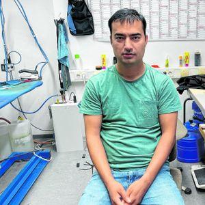Zabek Sediqi aus Afghanistan lebt in Hamburg