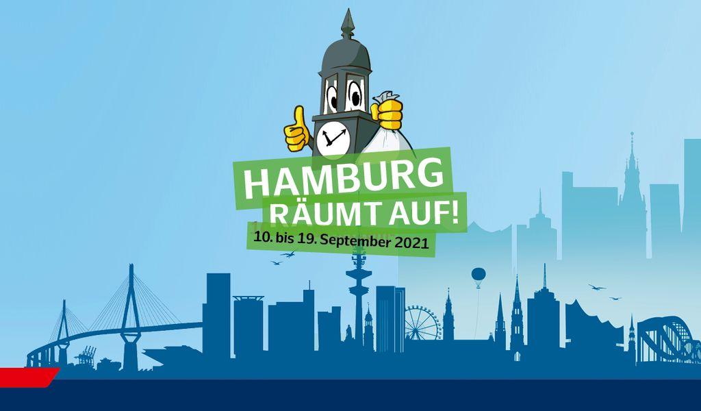 """Logo von """"Hamburg räumt auf"""""""
