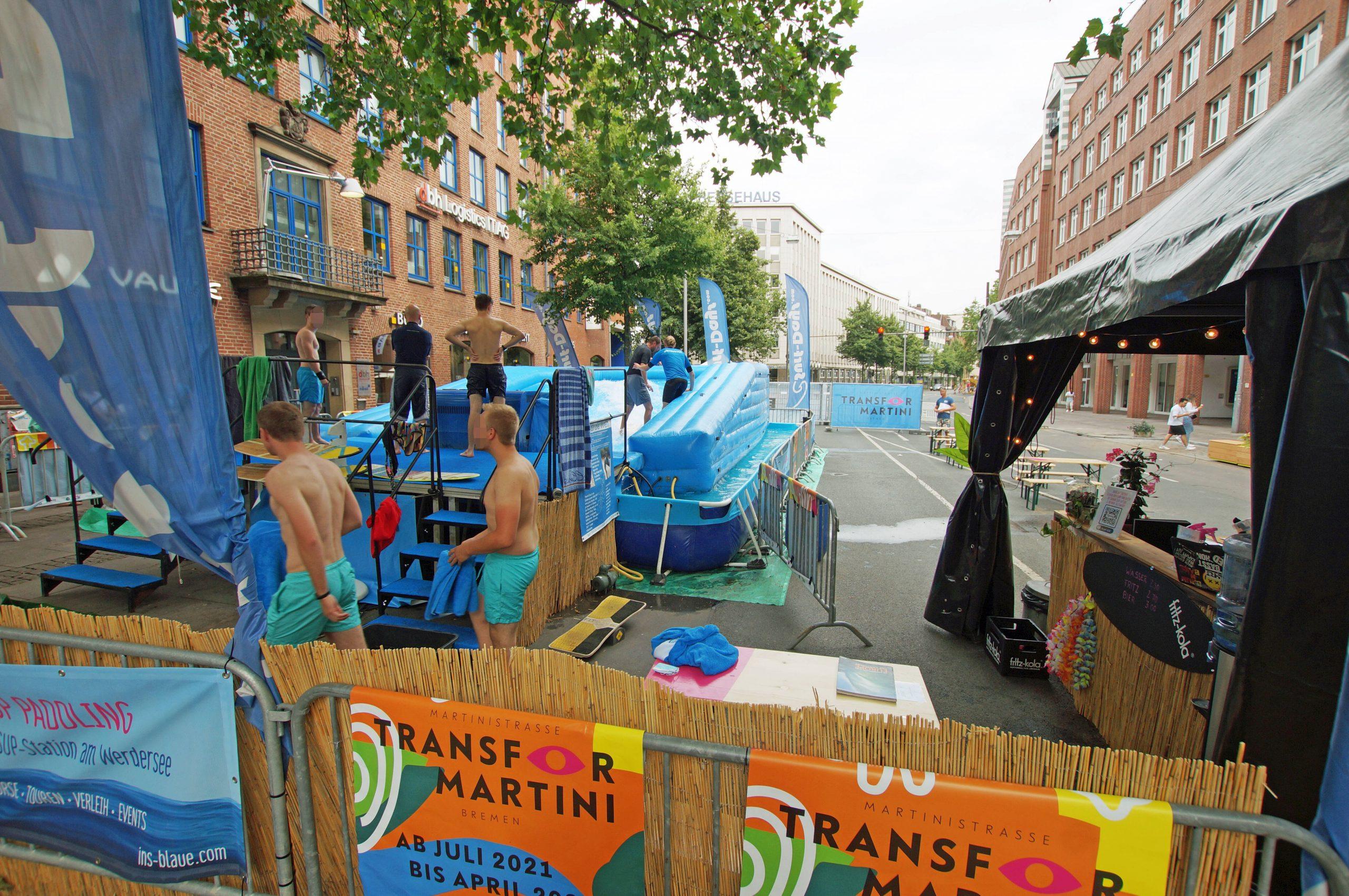 Martinistraße Surfen Bremen
