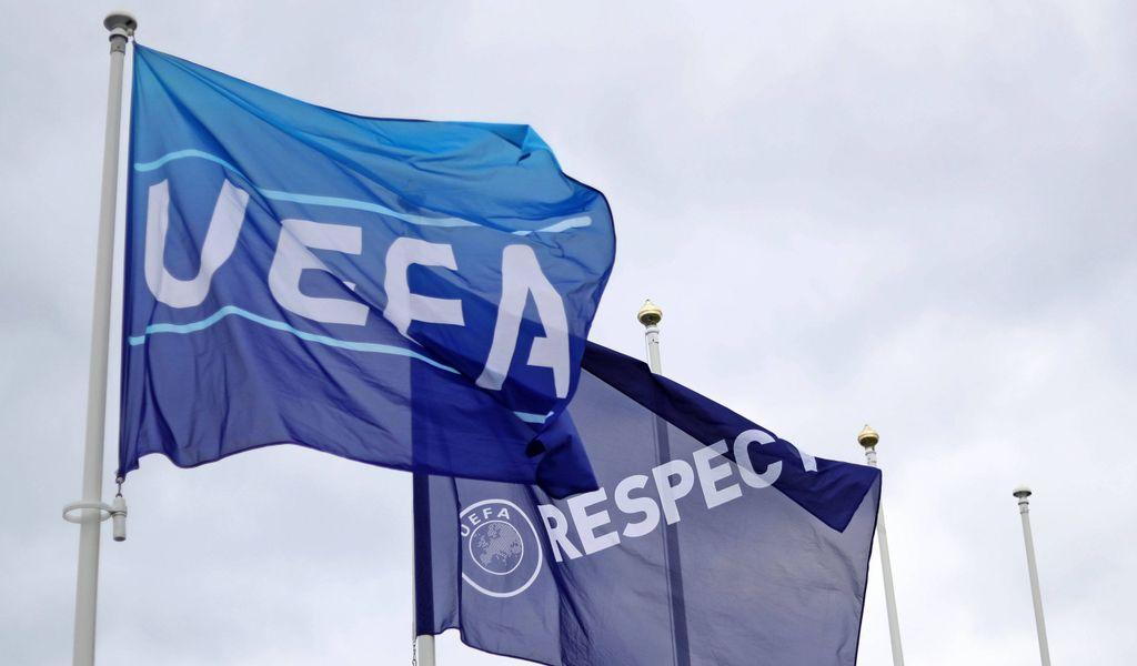 UEFA Fahne