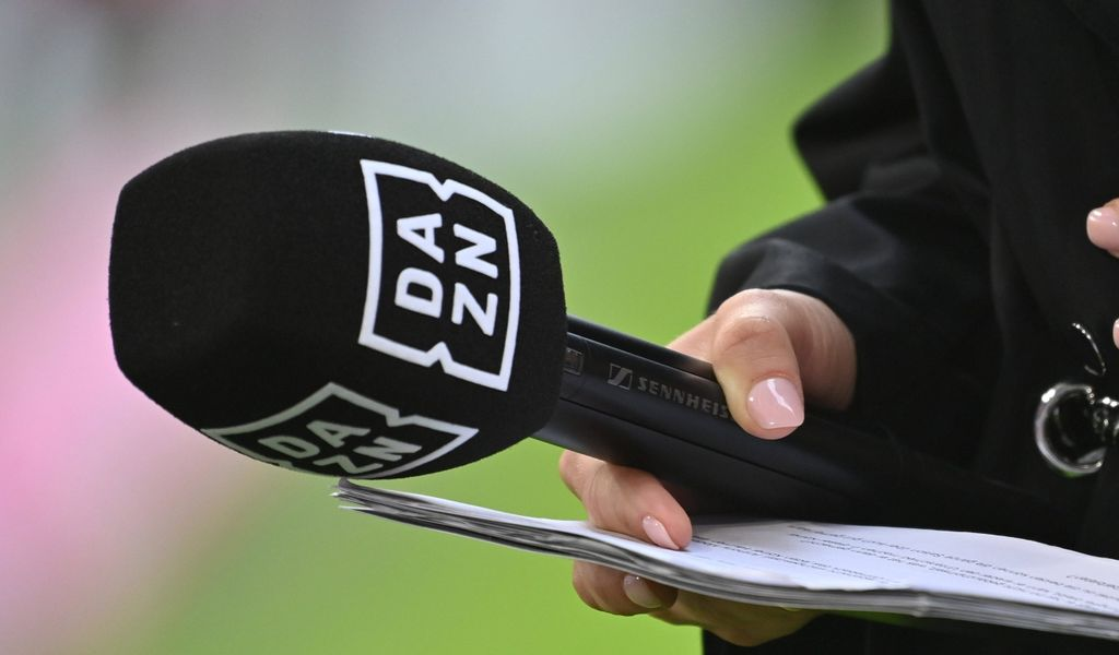 DAZN-Mikrofon