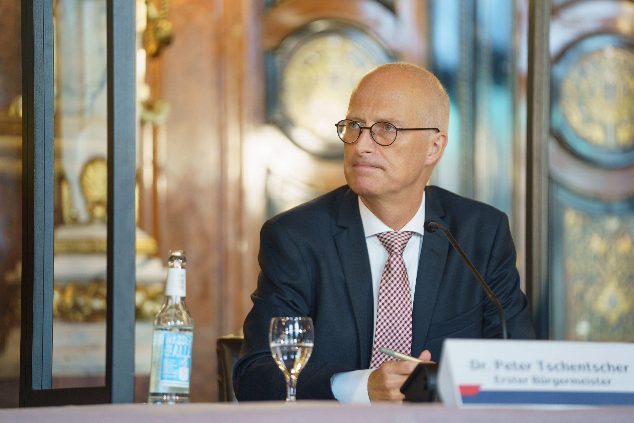 Peter Tschentscher Hamurg Bürgermeister