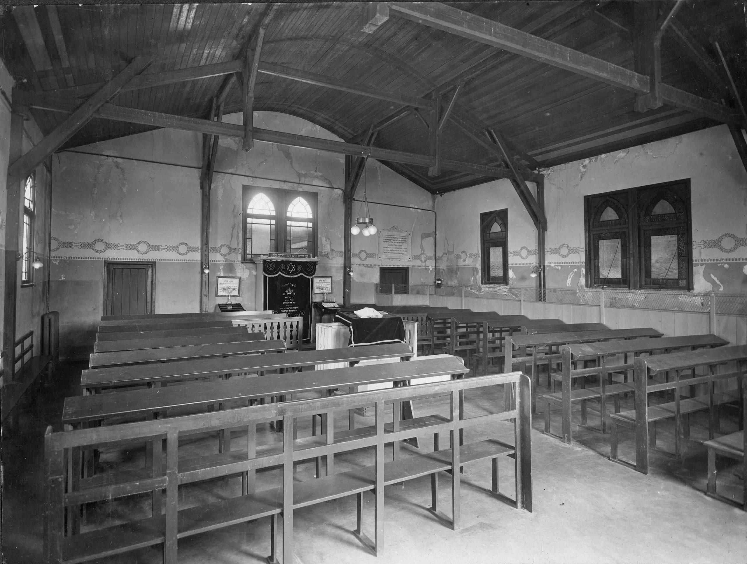 Synagoge in den Auswandererhallen BallinStadt