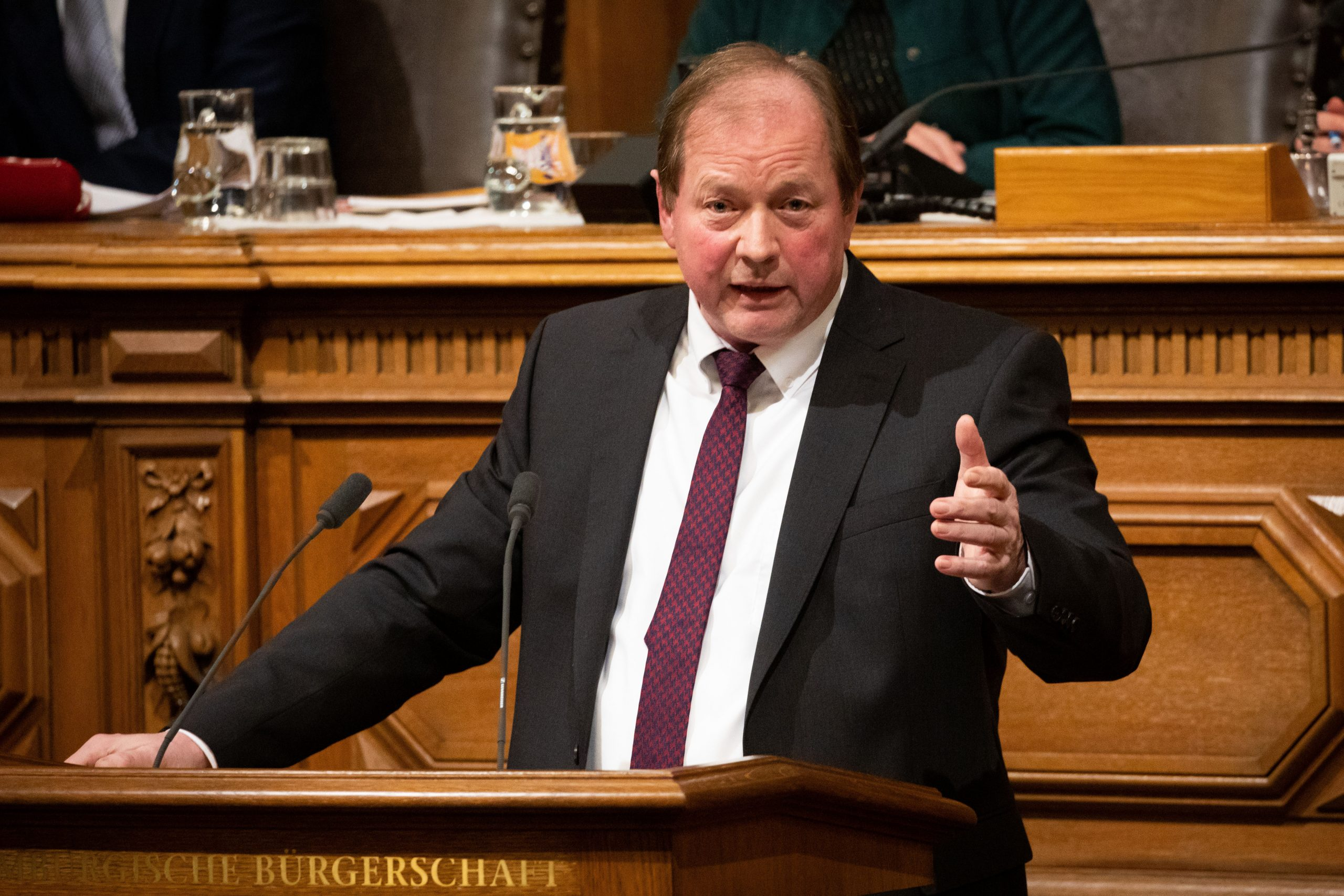 Hamburg: AfD-Chef Nockemann und die radikalen Merkel-Hasser