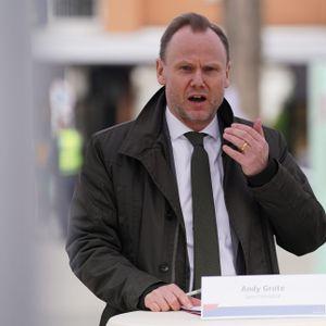 """Innensenator Andy Grote (SPD) steht beim """"Pimmel-Gate"""" unter Druck."""