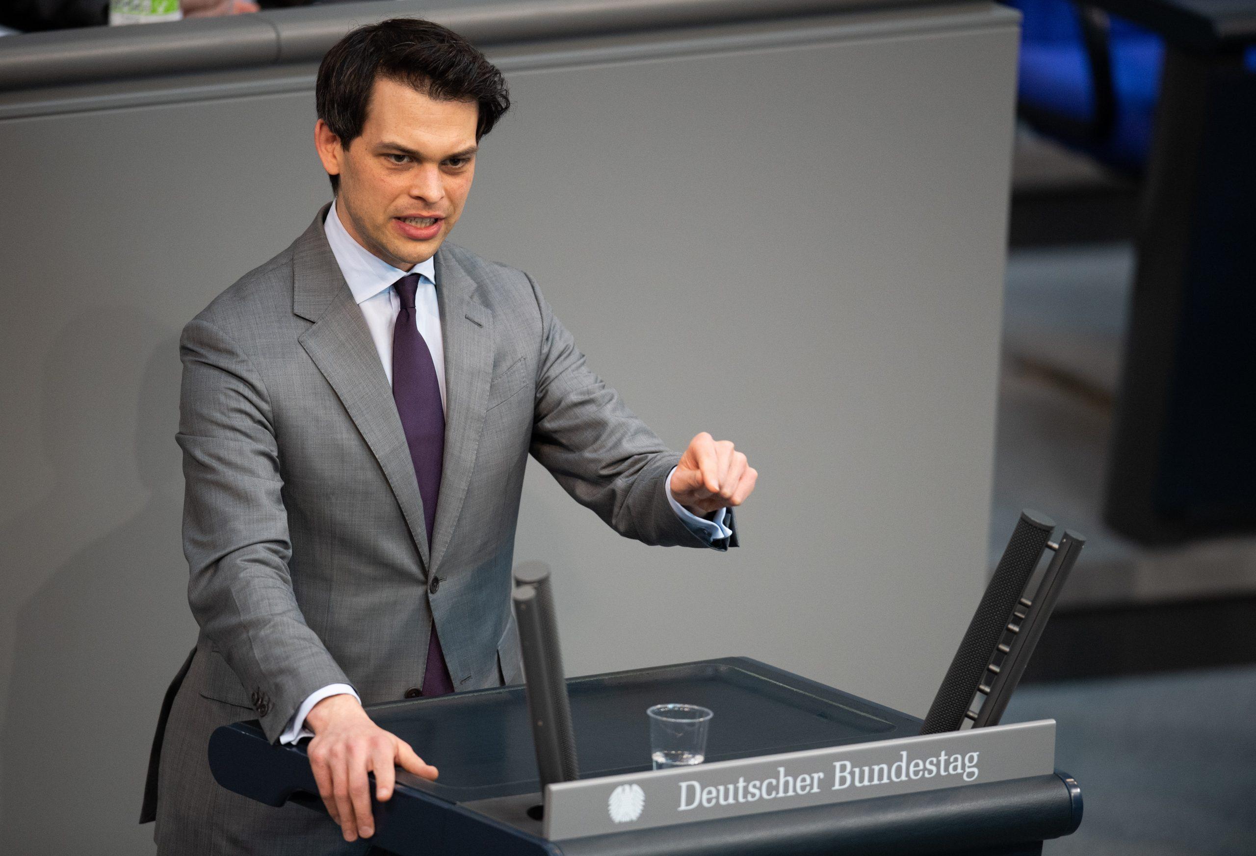 Christoph Ploß spricht im Bundestag