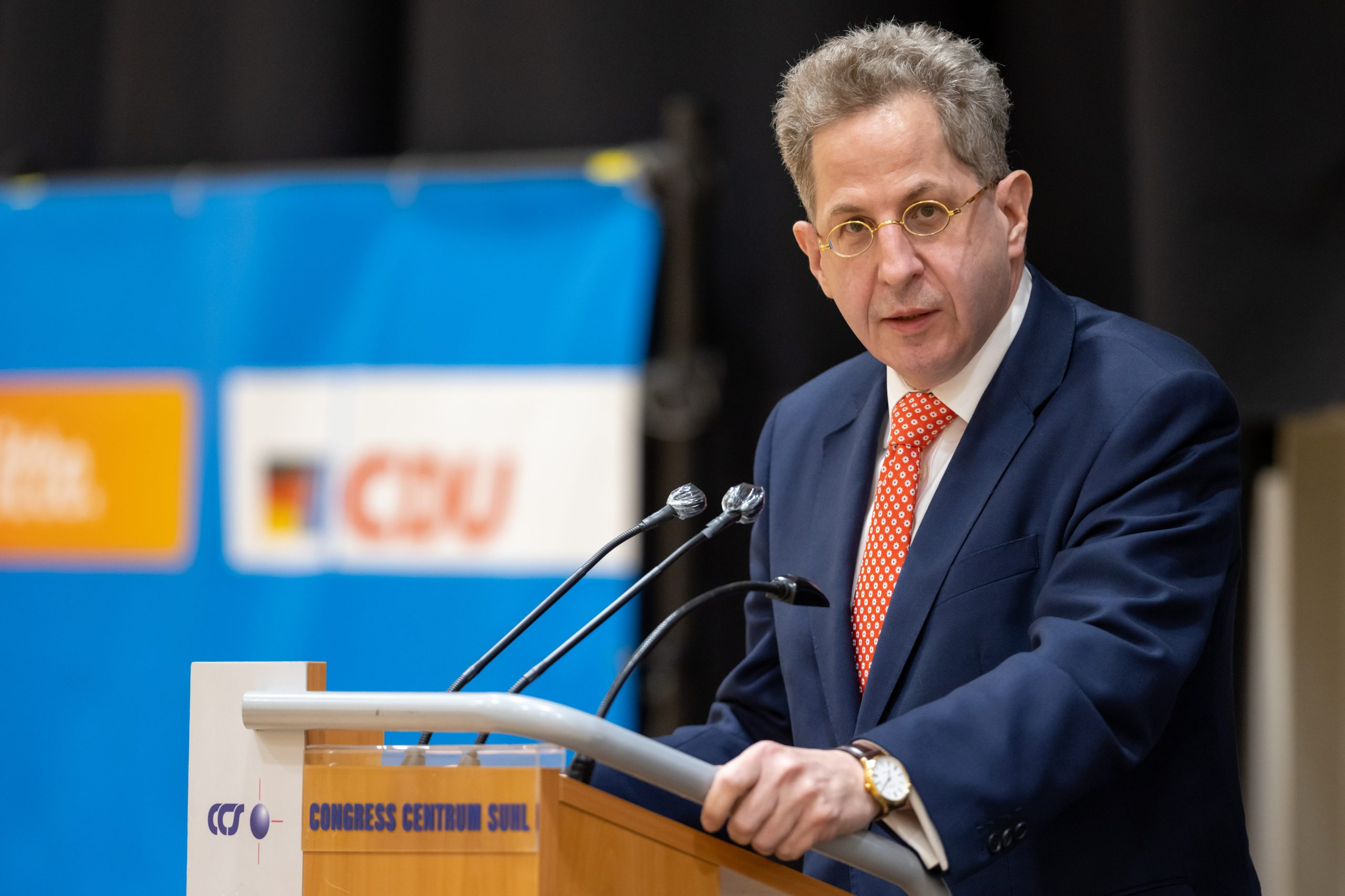 Hans-Georg Maaßen tritt im Südthüringer Wahlkreis 196 an.