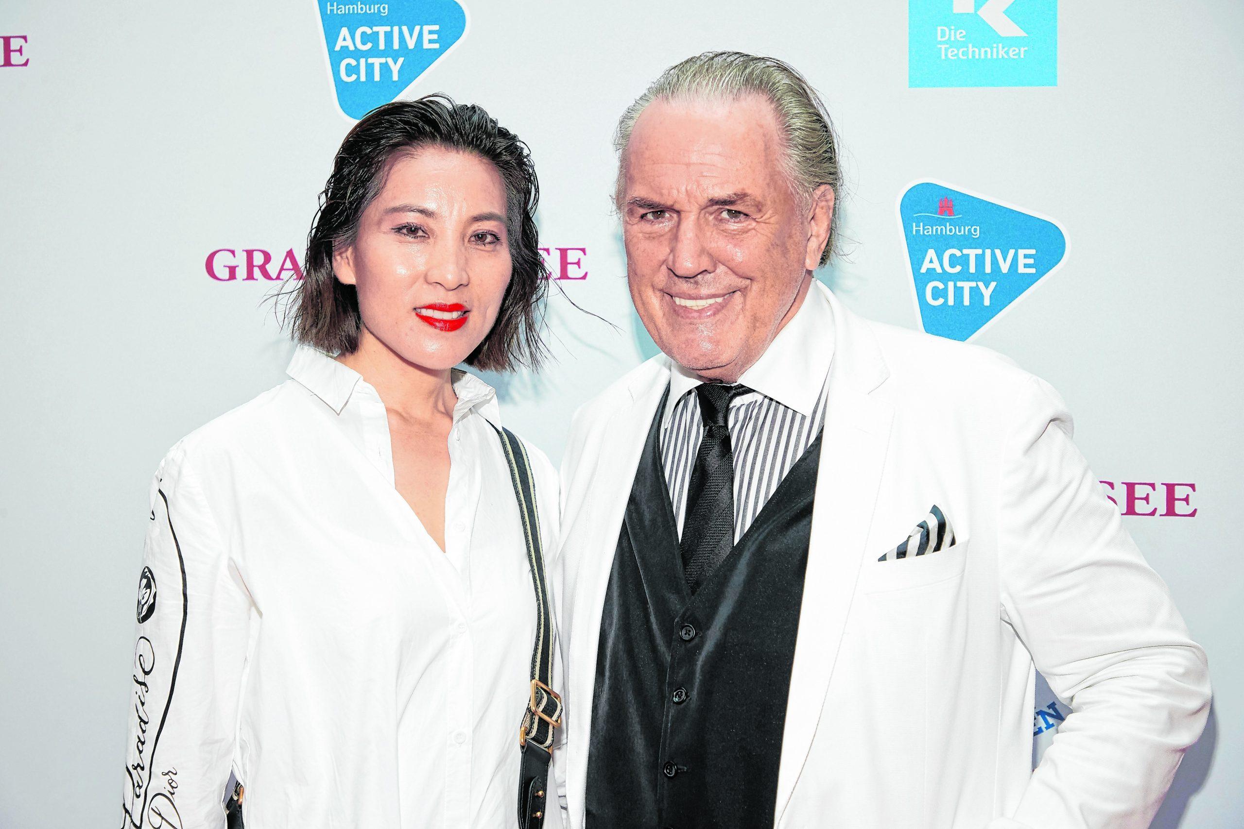 Jürgen Hunke und seine Frau Chun Li.