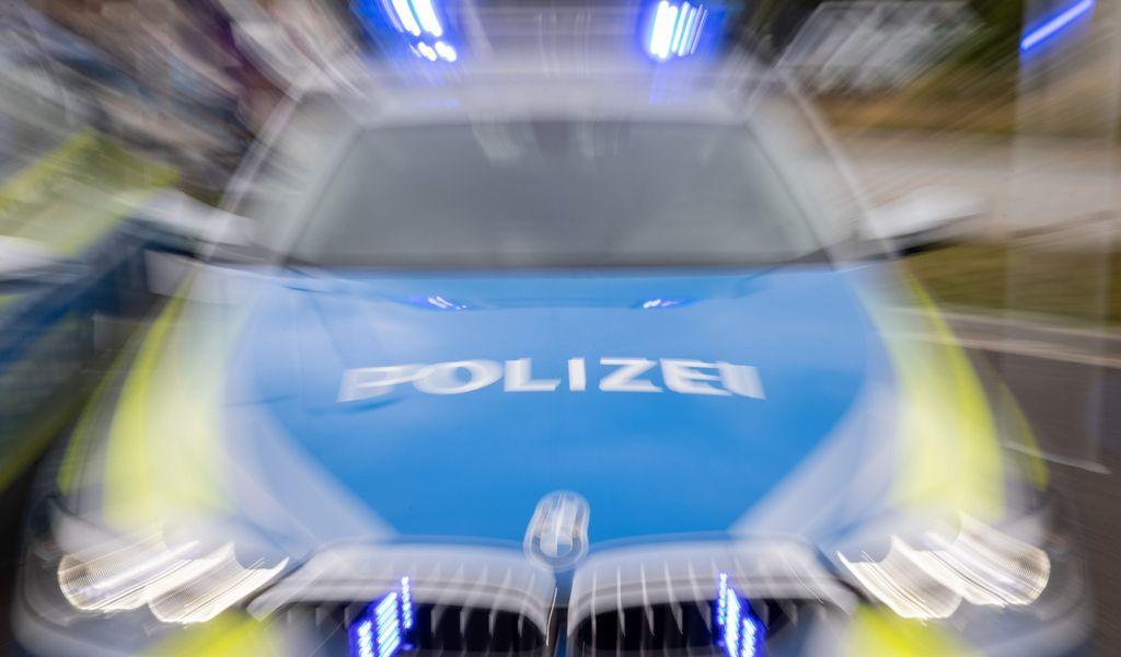 Blaulicht Steifenwagen Symbol