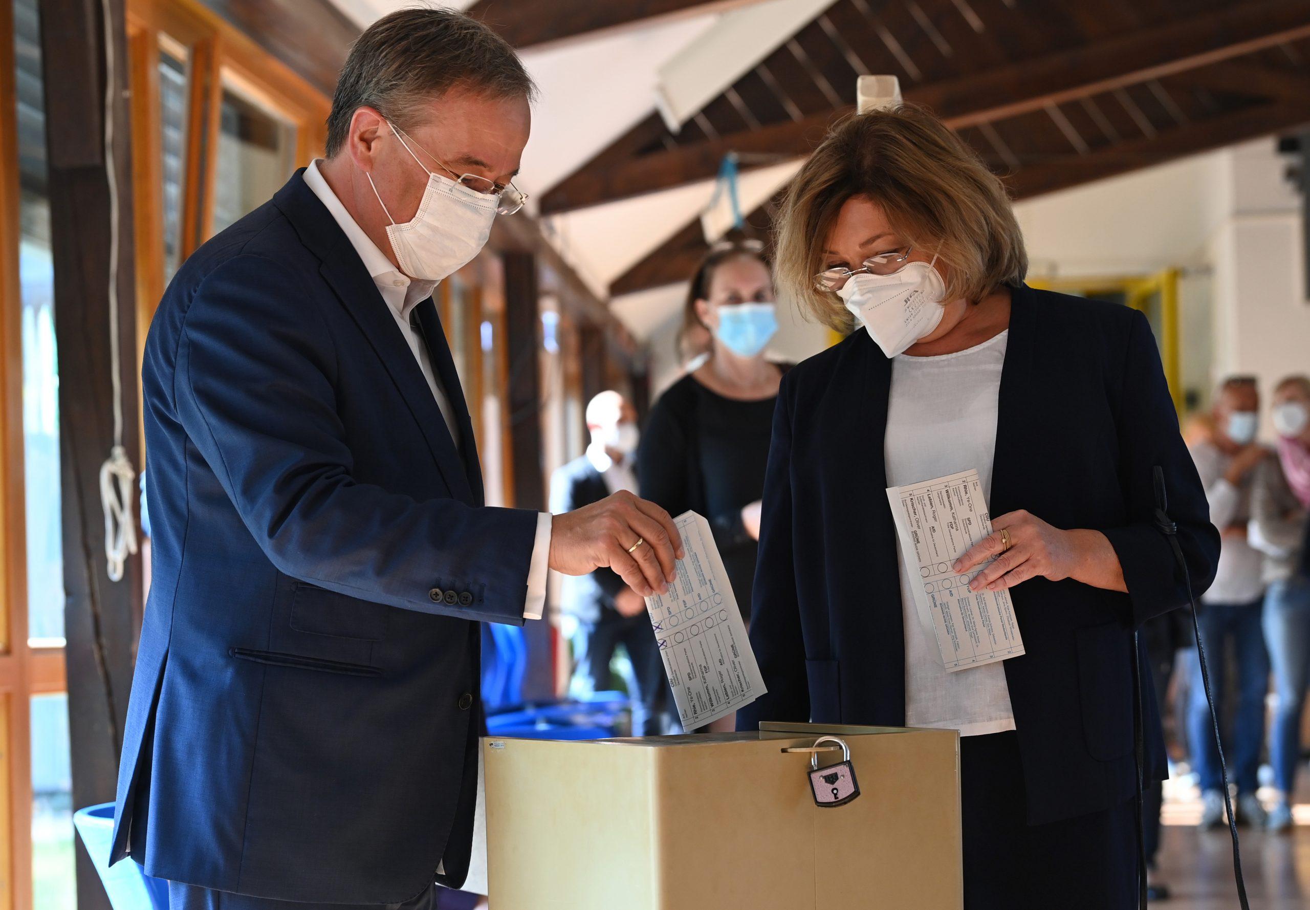 Armin Laschet und seine Frau