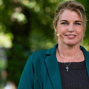 Porträt einer Grünen-Politikerin