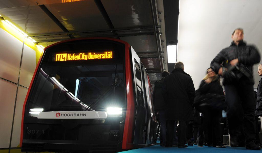 Ubahn Hamburg