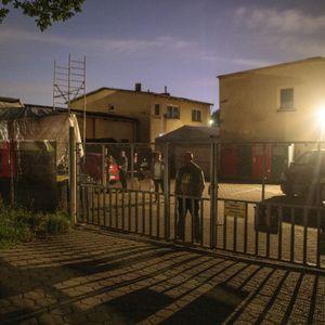 Protest gegen Wahlkampfveranstaltung der AfD.