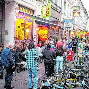 Impfaktion in der Wunderbar in Hamburg
