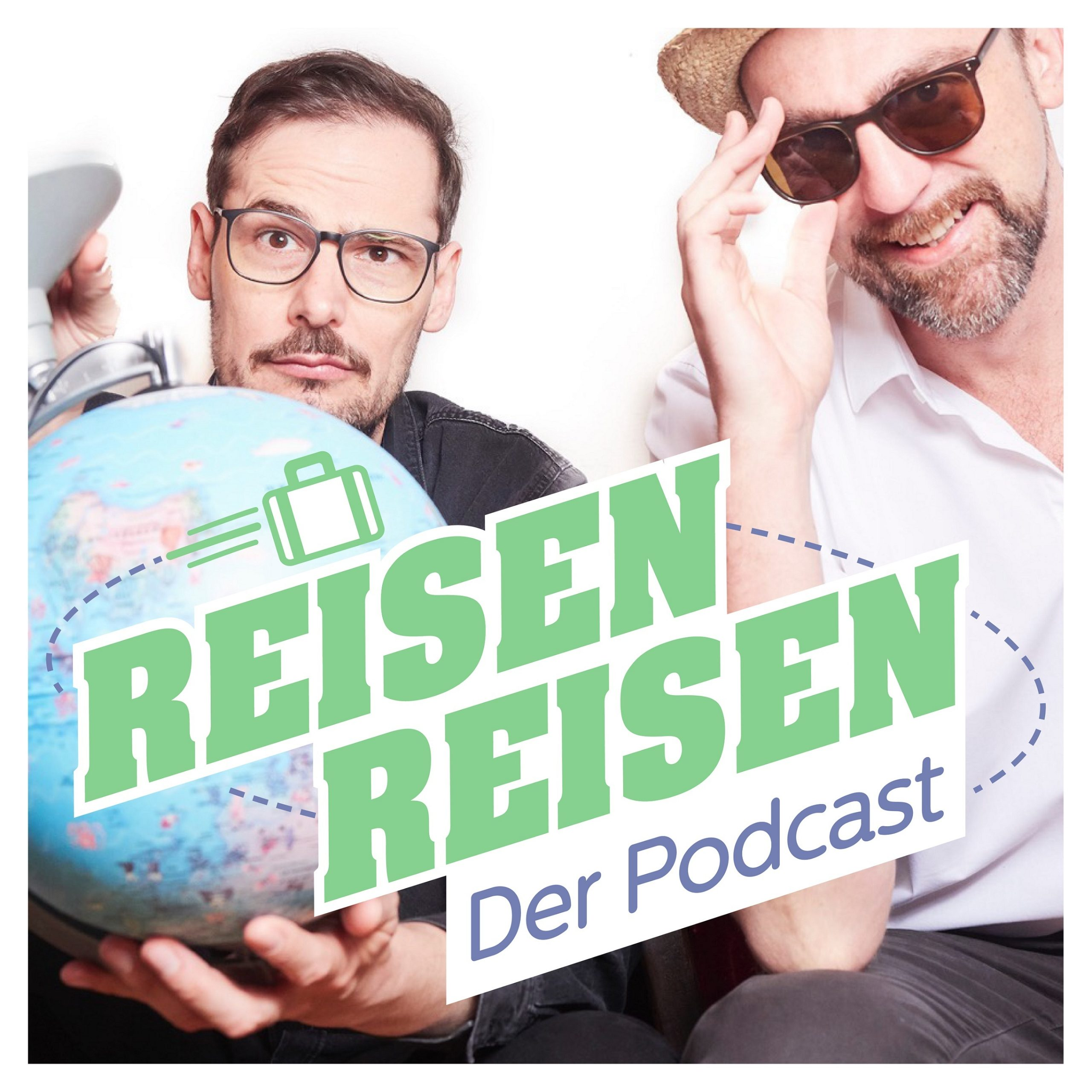 REISEN REISEN… heißt der Podcast von Michael Dietz und Jochen Schliemann.