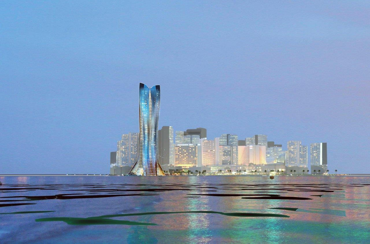 Michael-Schumacher-Snowflake-Tower in Abu Dhabi