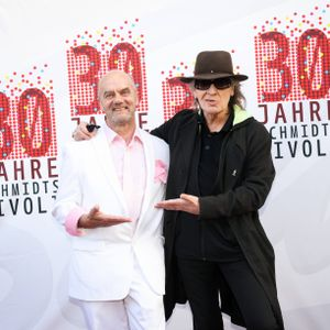 Tivoli-Gründer Corny Littmann (l.) und Gratulant Udo Lindenberg.