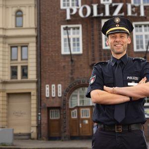 Sebastian Born, 40, ist neuer Leiter der Davidwache in Hamburg.