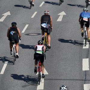 Für die Triathlon-Strecke werden am Wochenende in Hamburg diverse Straßen gesperrt