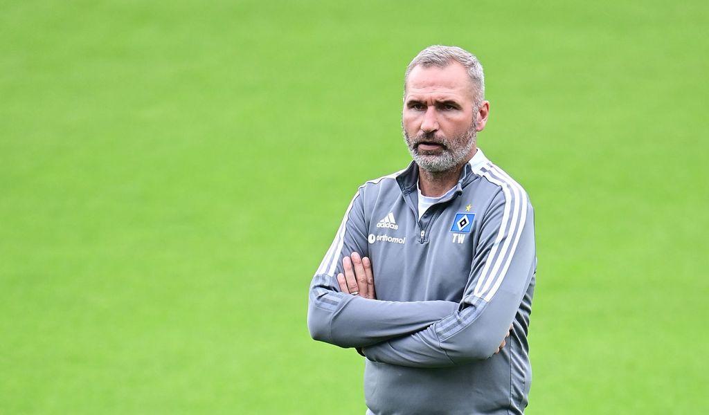 Für HSV-Trainer Tim Walter ist es das erste Nord-Derby in Bremen.