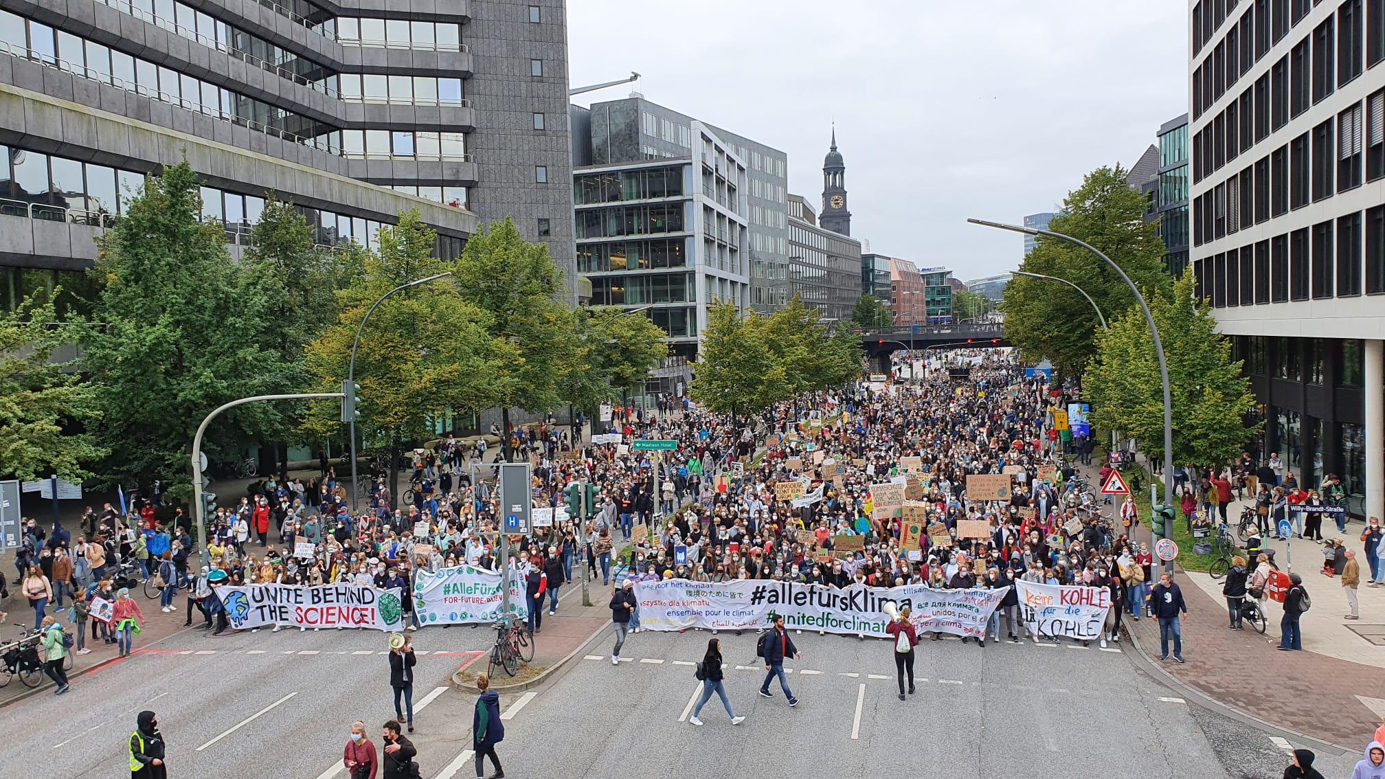 Klimastreik Hamburg