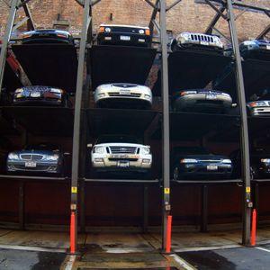 Eine Parkgarage aus 2007 in New York – heute sehen Parktürme deutlich moderner aus.