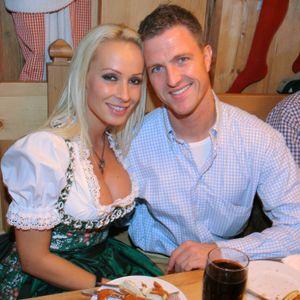 Cora und Ralf Schumacher beim Oktoberfest