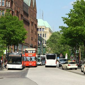 An der Mönckebergstraße kam es zu einem Angriff auf einen jüdischen Hamburger