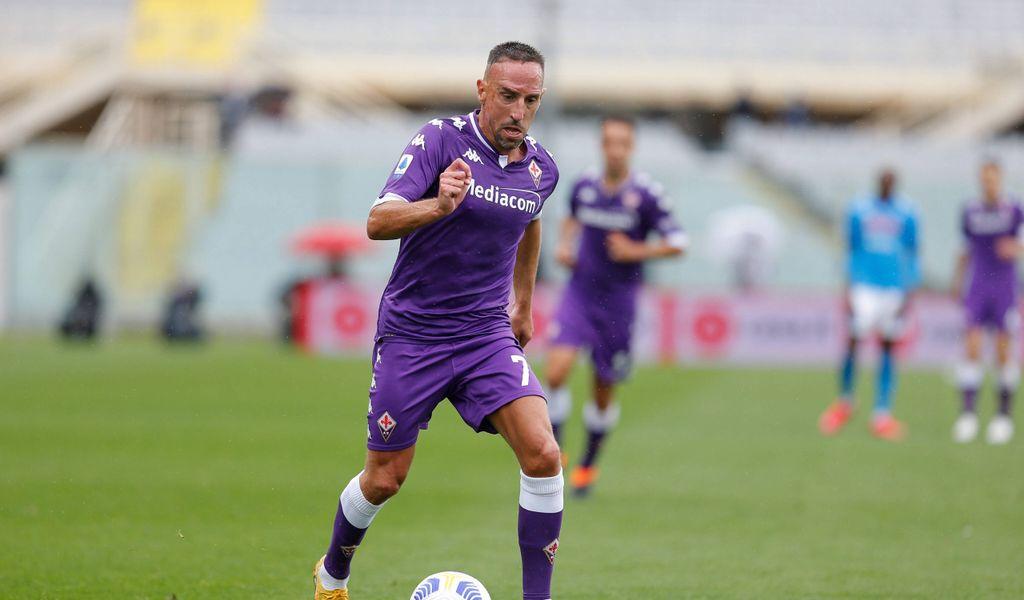 Franck Ribery will sich auch in Zukunft gegen Gegner in der Serie A durchsetzen