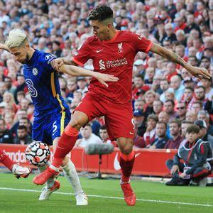 Liverpool Chelsea Firmino Jorginho