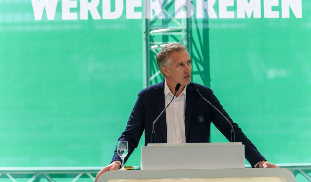 """Geschäftsführer Frank Baumann will Werder Bremen nach dem Abstieg """"in eine positive Zukunft lenken"""""""