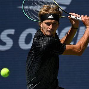 Alexander Zverev US Open Harris