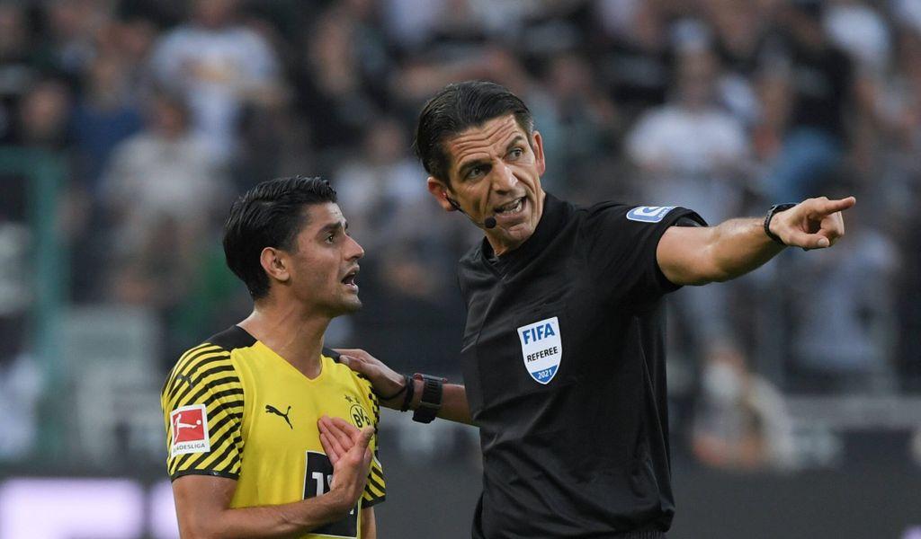 Dahoud entschuldigt sich für Platzverweis