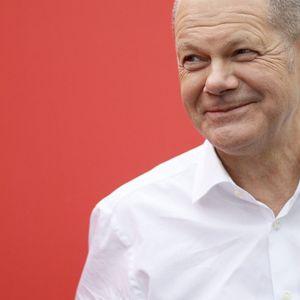 SPD-Kanlerkandidat Olaf Scholz.