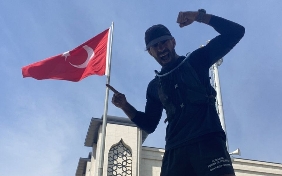 Savas Coban (28) ist nun endlich in Istanbul angekommen.
