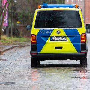 Polizeiwagen in Lüneburg