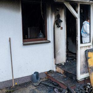 Explosion in einem Wohnhaus bei Stralsund