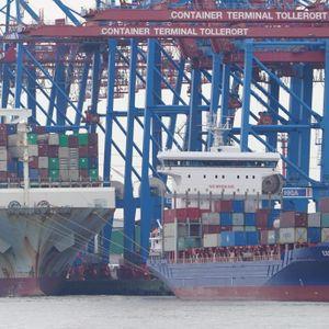 Hamburger Hafen Tollerort Container Terminal