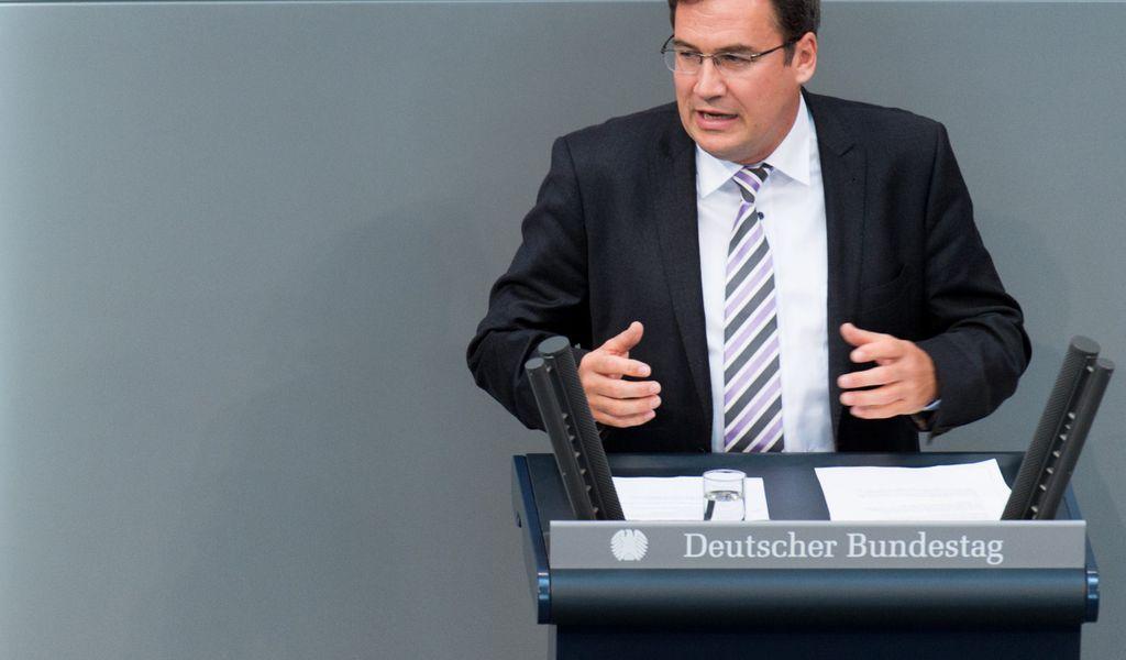 Der CDU-Abgeordnete Christian von Stetten